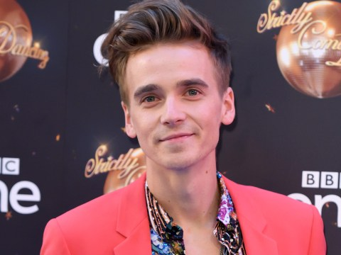 Joe Sugg puts his foot in it with Dianne Buswell as couple all about bizarre Follow Me Toe trend