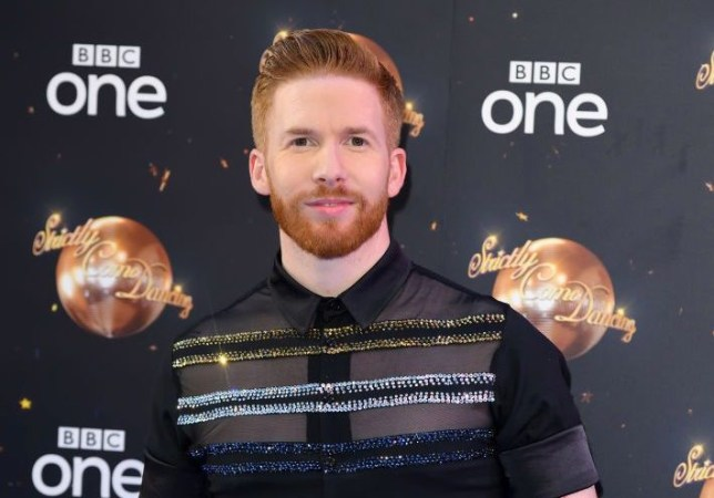 Neil Jones at Strictly Come Dancing red carpet