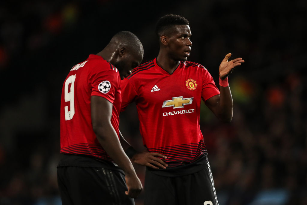 Ole Gunnar Solskjaer forced to break up dressing room bust-up between Paul Pogba and Romelu Lukaku after Southampton win