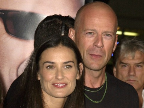 Demi Moore proves you can be friends with an ex as she attends Bruce Willis' wedding anniversary party