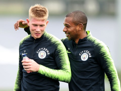 Kevin de Bruyne, John Stones, Benjamin Mendy and Fernandinho injury boost for Man City