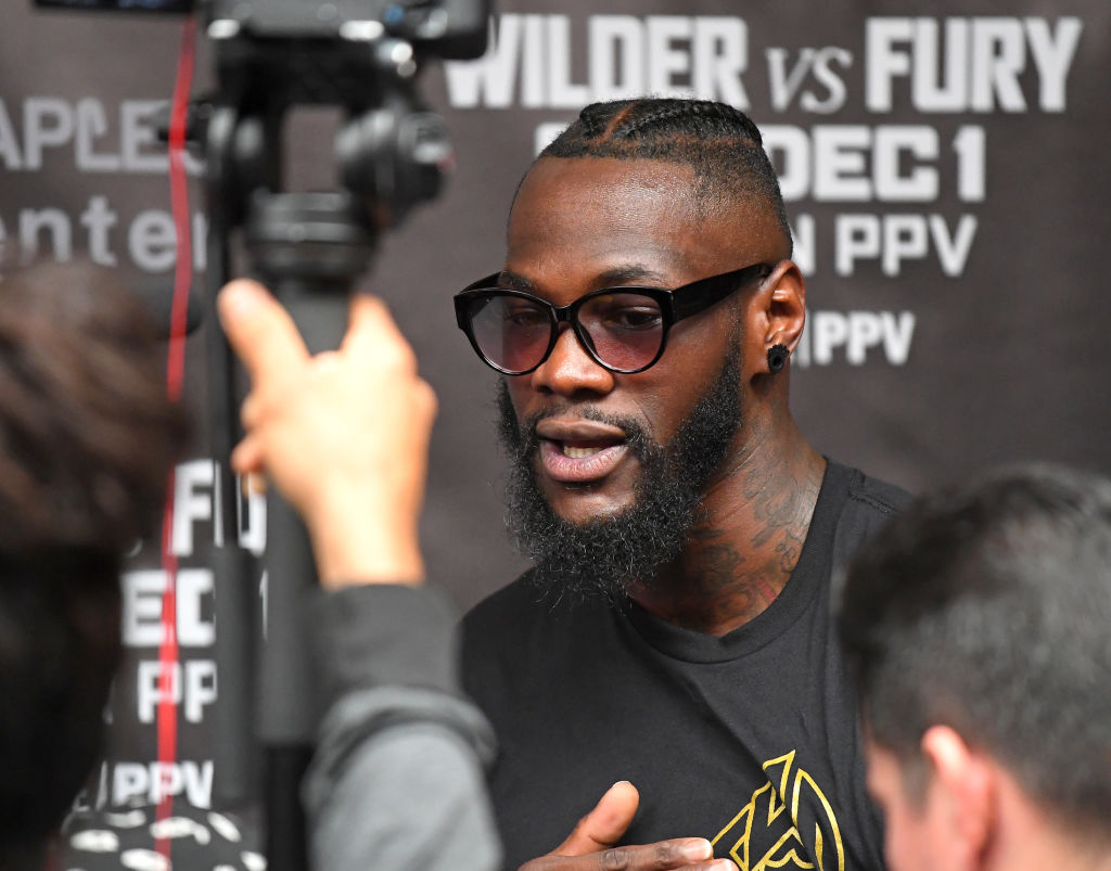 Deontay Wilder responds to rumours he rejected $100m DAZN offer to fight Anthony Joshua