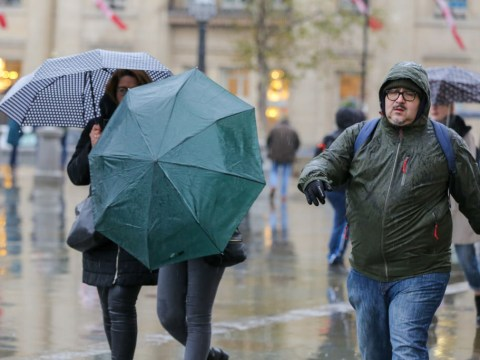 British Summer Time kicks off with snow, hail and 50mph gales