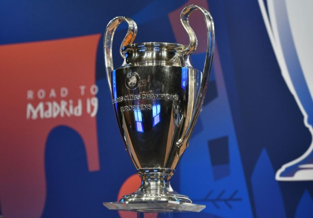 The draw for the Champions League quarter-finals