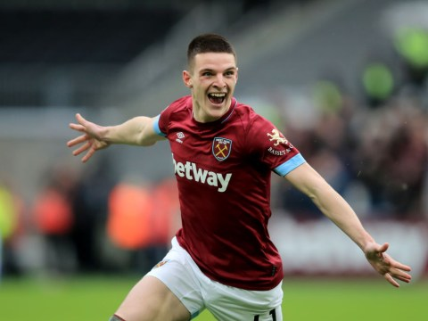 Declan Rice earns first England call-up 24 hours after winning Young Ireland Player of the Year award