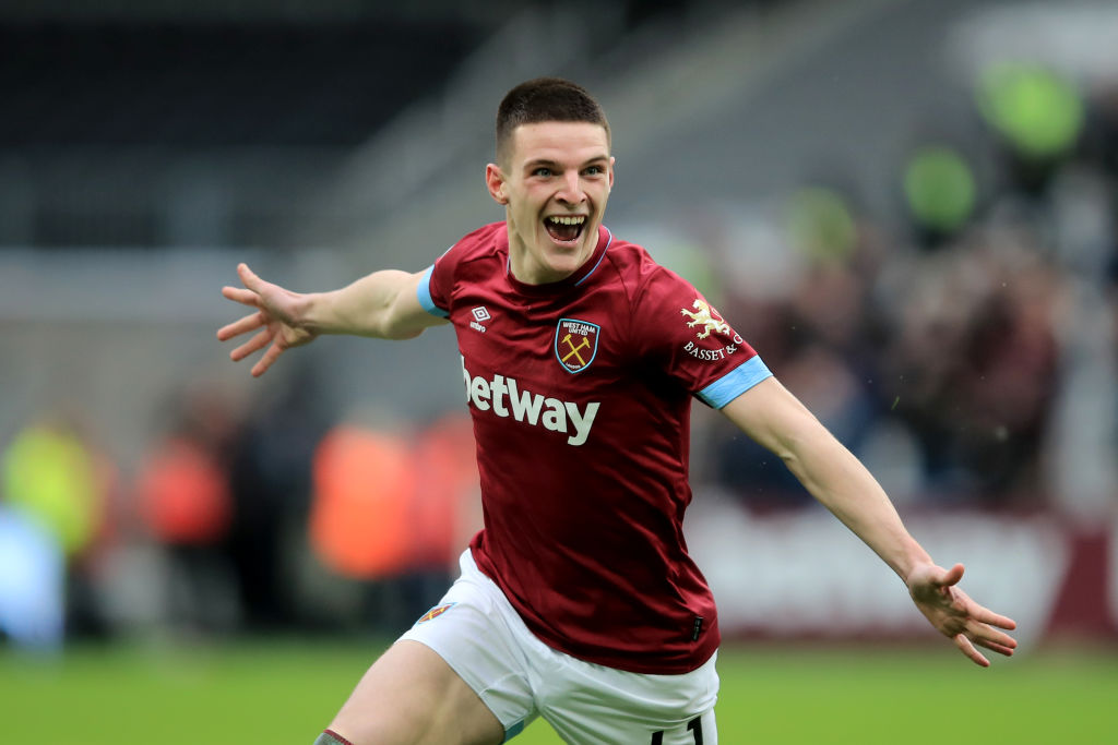 Declan Rice breaks silence after receiving first call-up to Gareth Southgate's England squad