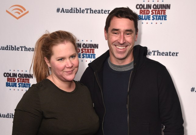 Amy Schumer and her husband, chef Chris Fischer