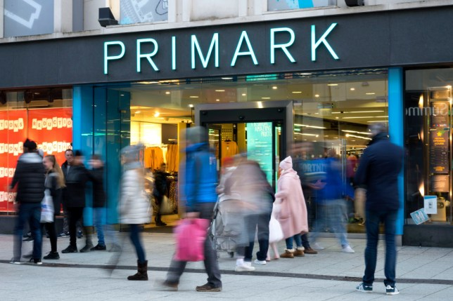A Primark store in Cardiff