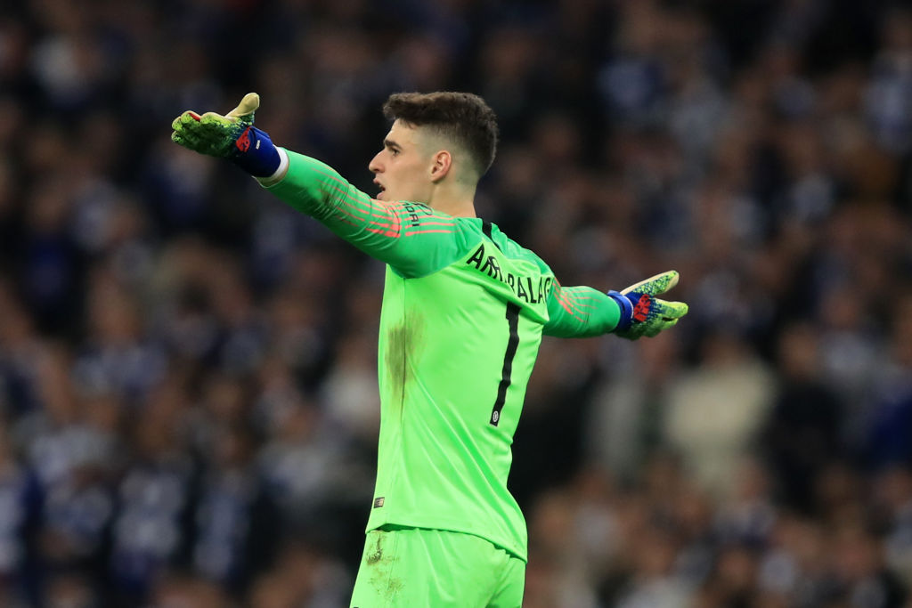 Maurizio Sarri explains why Kepa row was actually good for Chelsea