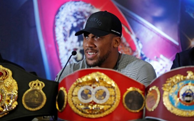 Heavyweight boxer Anthony Joshua already planning next four fights