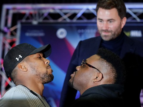 Anthony Joshua tells Eddie Hearn to find a replacement for Jarrell Miller