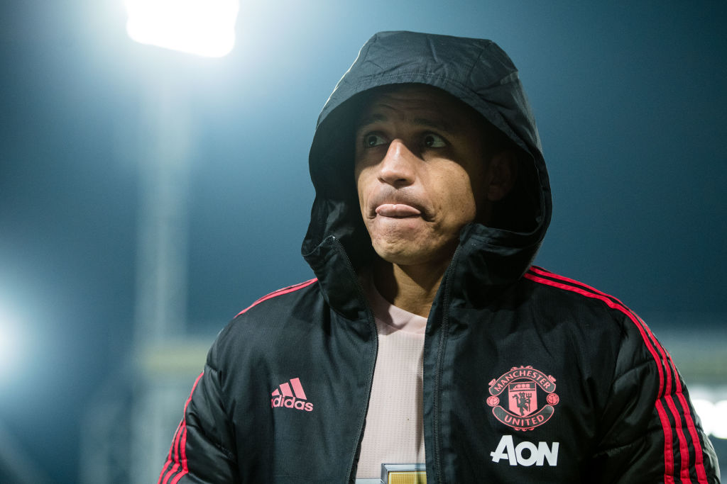 Barcelona turn down opportunity to re-sign Alexis Sanchez on loan from Man Utd