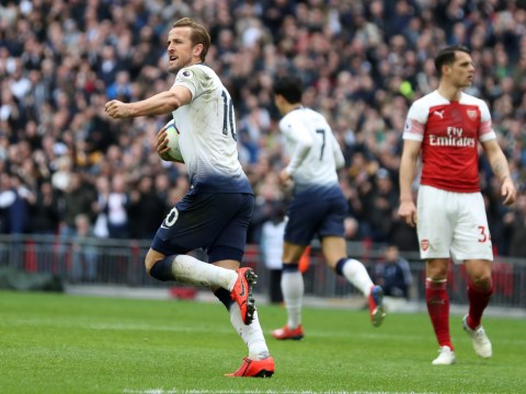 Harry Kane sets north London derby record as Spurs frustrate Arsenal