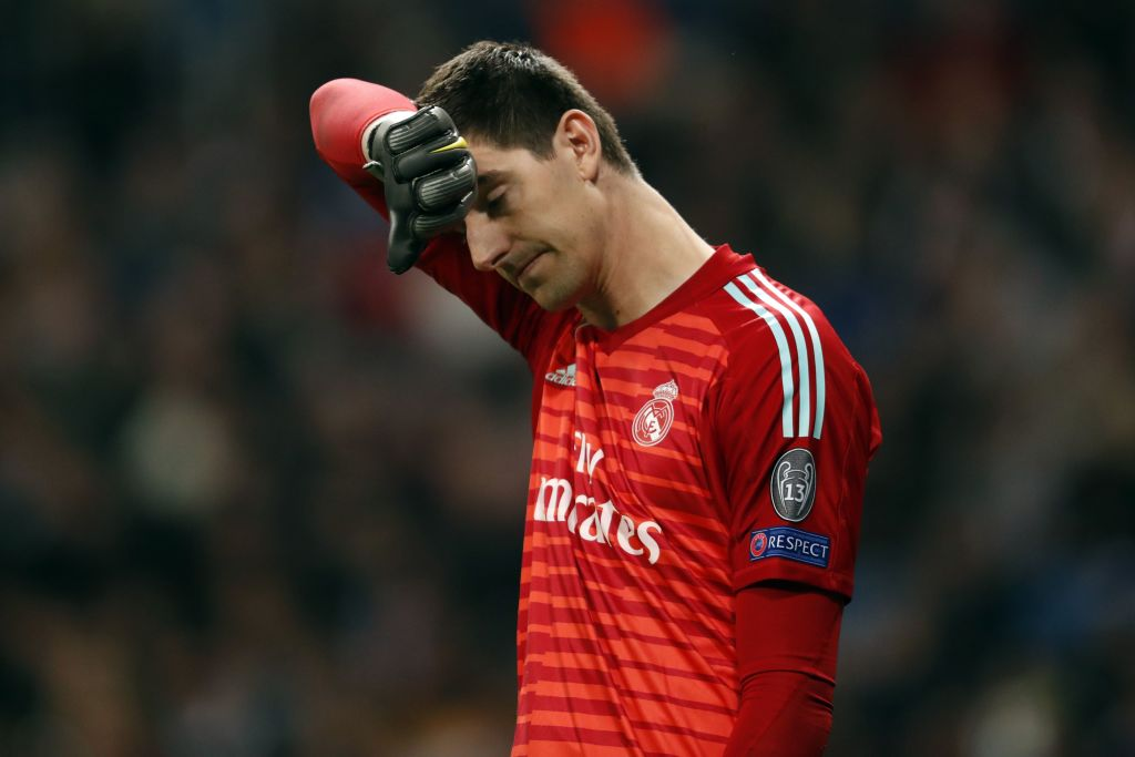 Gary Lineker pokes fun at Thibaut Courtois as Ajax dump Real Madrid out of Champions League