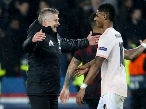 Ole Gunnar Solskjaer tells Marcus Rashford to emulate Cristiano Ronaldo for Manchester United