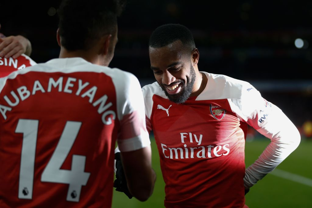 Unai Emery trusted Alexandre Lacazette and Pierre-Emerick Aubameyang in penalty decision