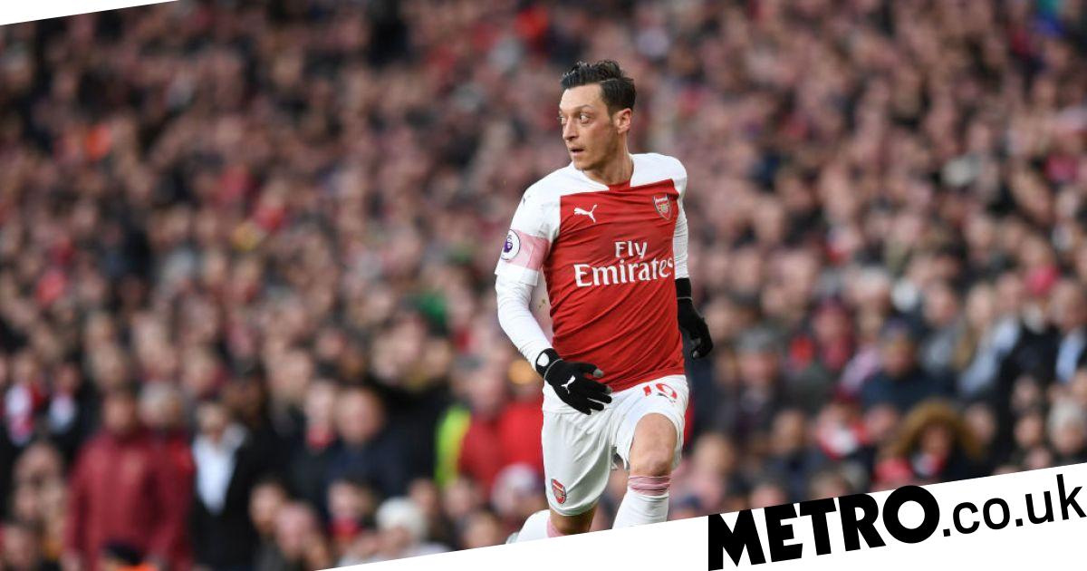 a594dea05 Mesut Ozil took a subtle dig at Jesse Lingard following Arsenal s vital 2-0  win over Manchester United.He just couldn t resist!