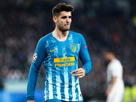 Diego Godin takes dig at former Chelsea star Alvaro Morata after Atletico Madrid's Champions League exit
