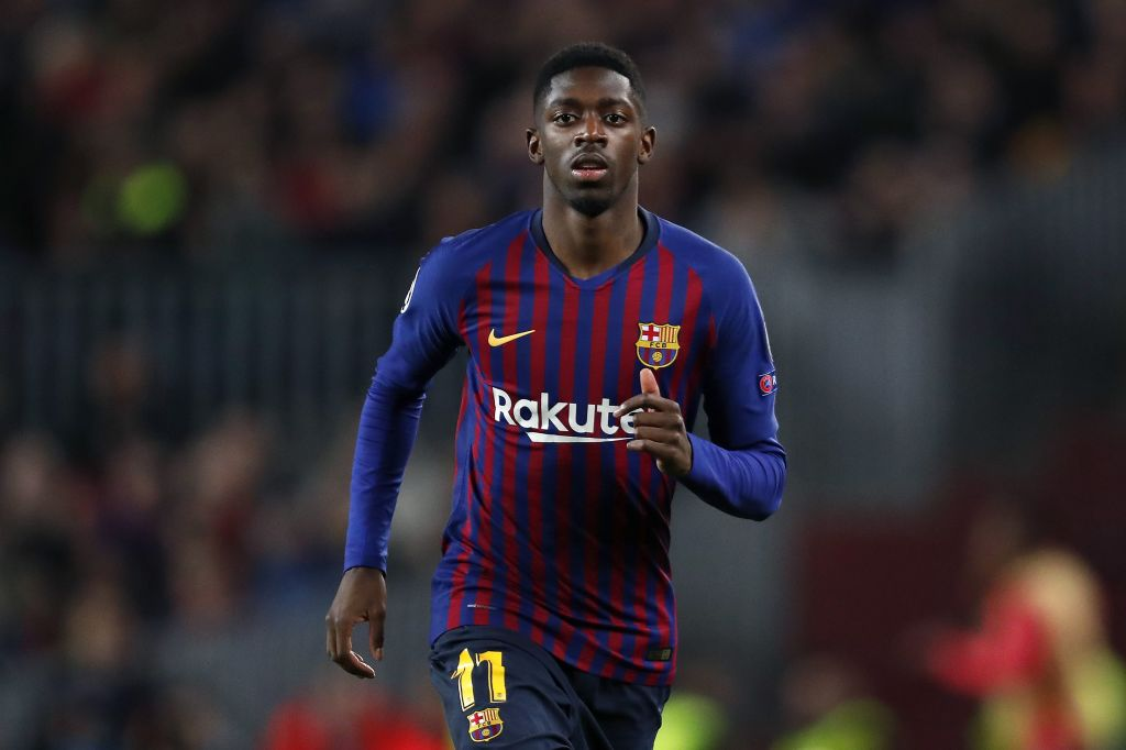 Ousmane Dembele is expected to be fit for Barcelona's clash with Manchester United