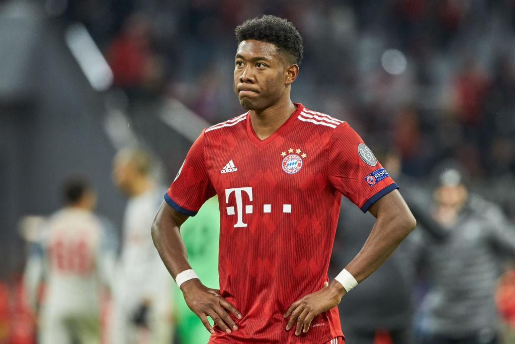 Arsenal fans send transfer plea to David Alaba after Lucas Hernandez joins Bayern Munich