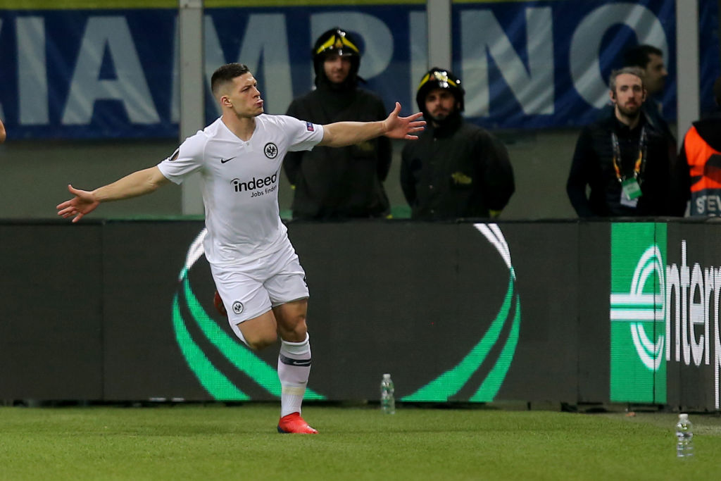 Manchester United make contact with Eintracht Frankfurt over Luka Jovic transfer