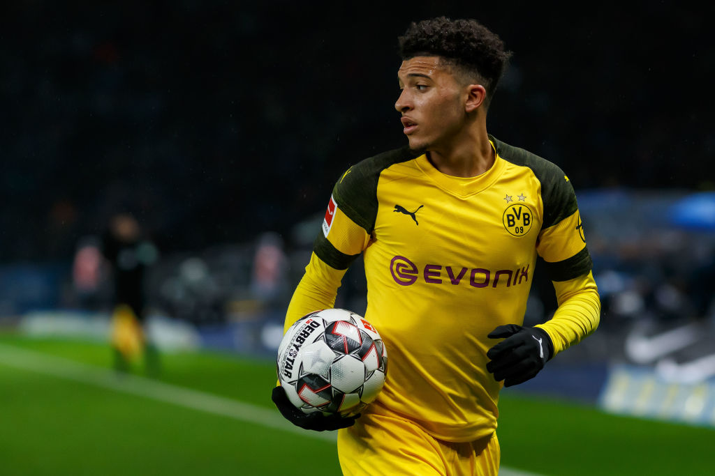Jadon Sancho drops Manchester United hint as he prepares to make first competitive England start
