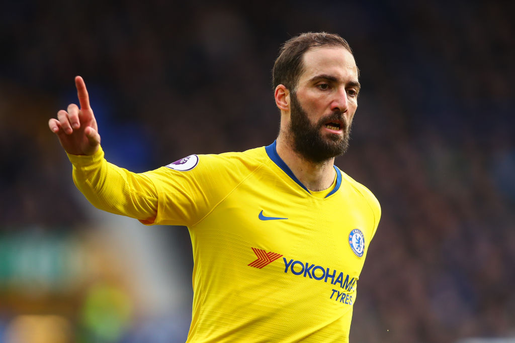 Chelsea consider terminating Gonzalo Higuain's loan deal this summer