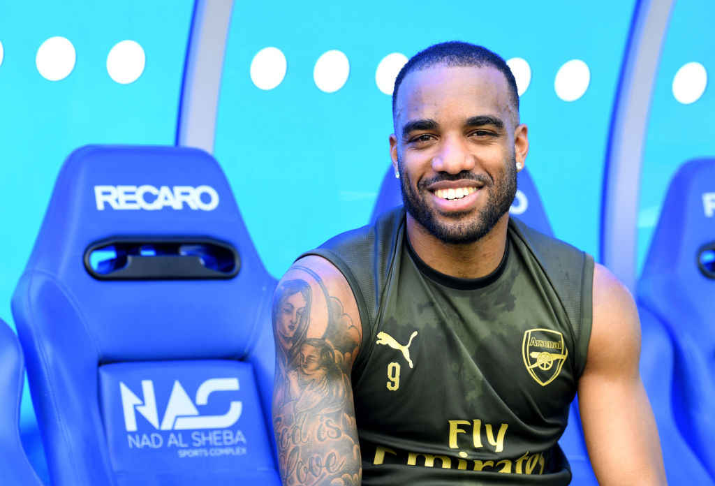 Alexandre Lacazette rates Arsenal's chances of finishing in Premier League top four