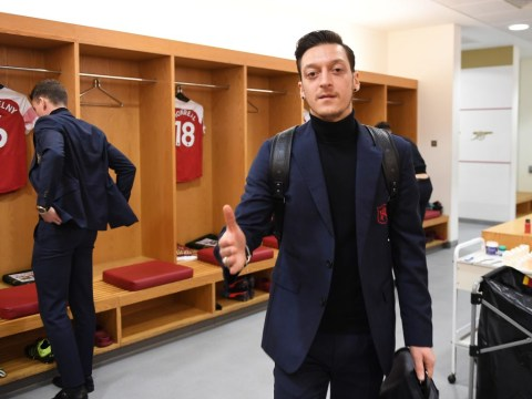 Tottenham v Arsenal team news: Unai Emery benches Mesut Ozil and Pierre-Emerick Aubameyang for derby clash