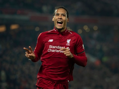 Liverpool's Virgil van Dijk makes Premier League and Champions League promise