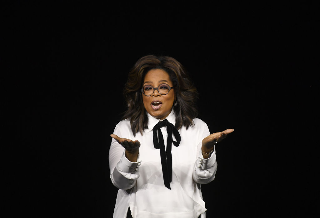 Oprah to make mental health series and a book club with Apple TV+