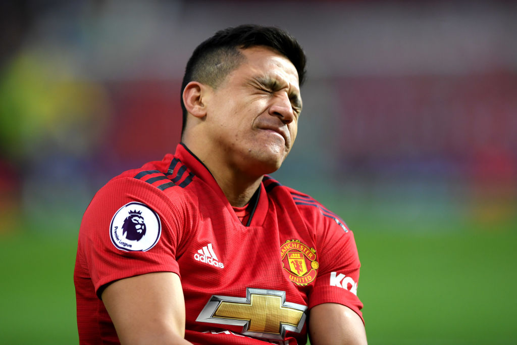 Alexis Sanchez ready to take wage cut to force Manchester United exit