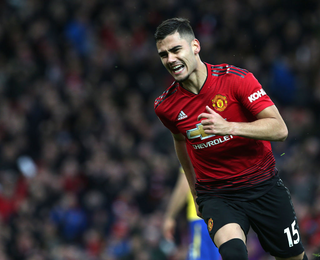 Ole Gunnar Solskjaer claims he's found the perfect new position for Man Utd star Andreas Pereira