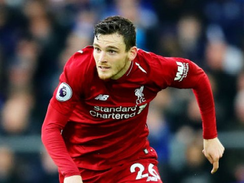 Phil Neville hails Liverpool's Andrew Robertson as the best left-back in Europe
