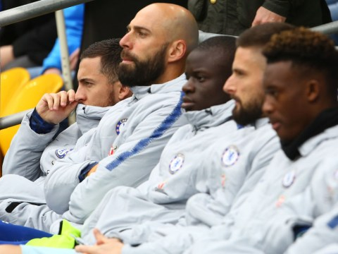 Maurizio Sarri explains why he has benched Eden Hazard and N'Golo Kante for Chelsea v Cardiff