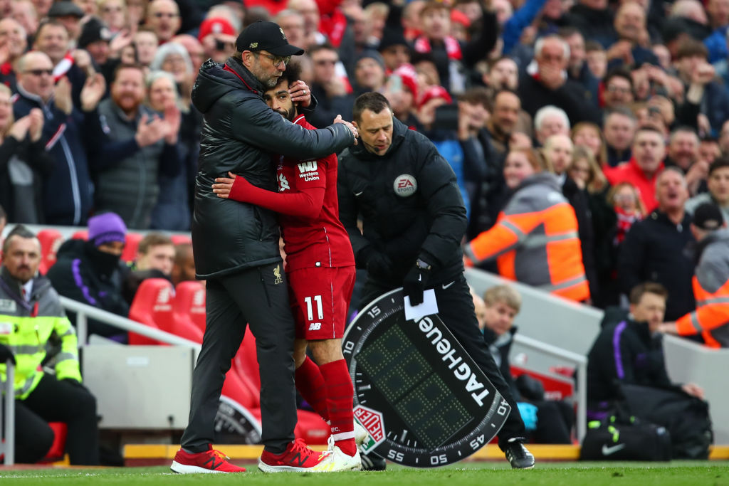 Mohamed Salah reveals what he told Jurgen Klopp after Liverpool beat Tottenham