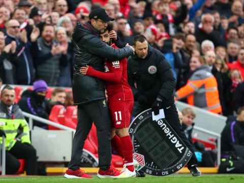 Mohamed Salah reveals what he told Jurgen Klopp after Liverpool beat Tottenham