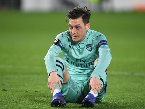 Mesut Ozil's two closest allies in the Arsenal team revealed