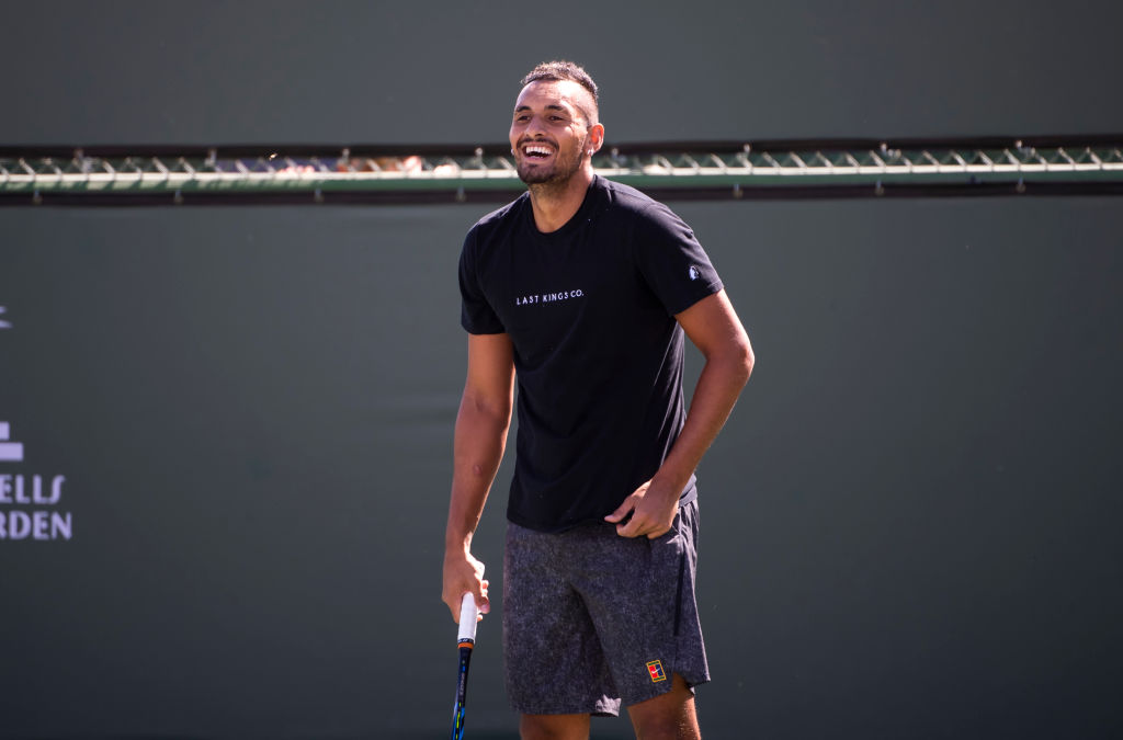 Nick Kyrgios pinpoints weaknesses of Roger Federer, Rafael Nadal and Novak Djokovic