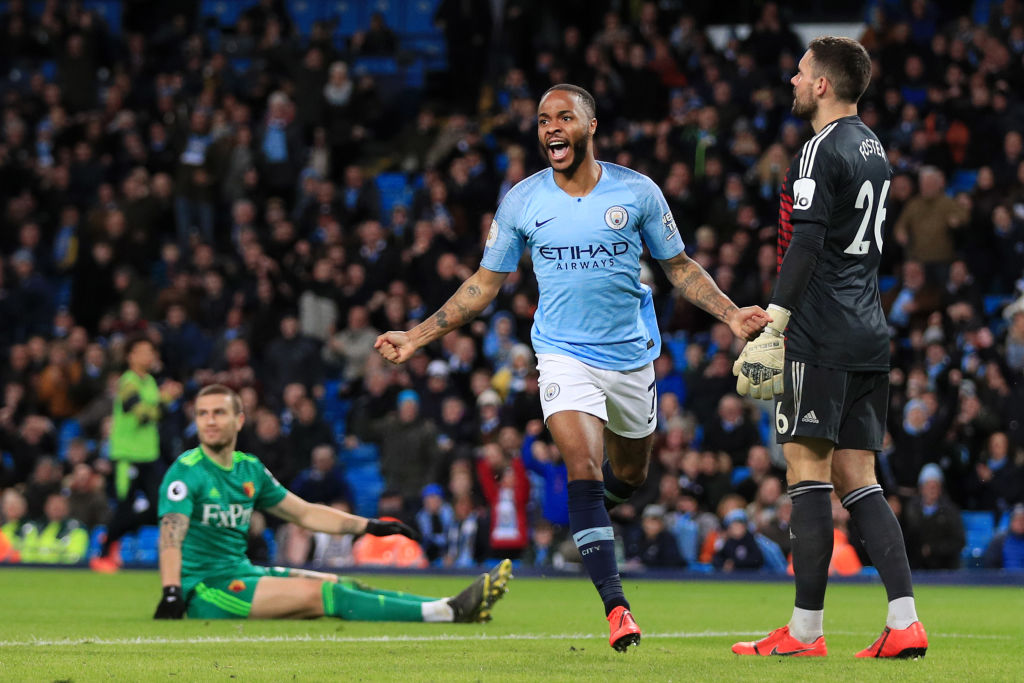 Pep Guardiola explains how Raheem Sterling can get better after hat-trick against Watford
