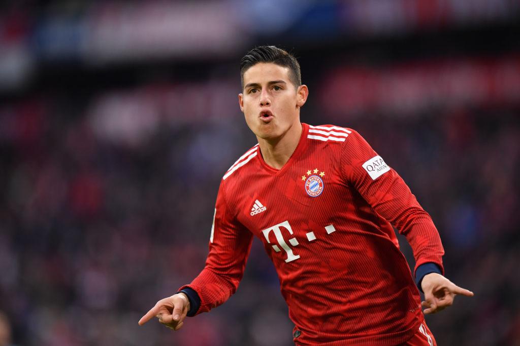 Arsenal transfer target James Rodriguez not returning to Real Madrid