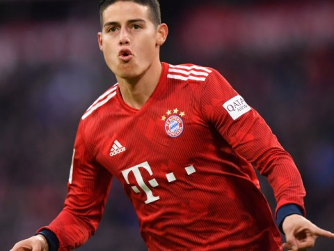 Arsenal transfer target James Rodriguez not returning to Real Madrid