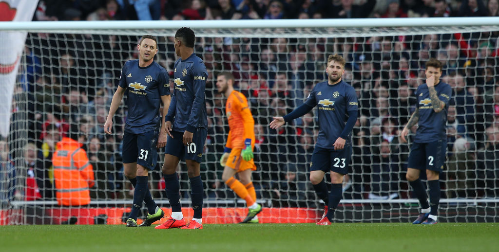 Manchester United's midfield failed to match Arsenal's, says Jamie Carragher & Graeme Souness