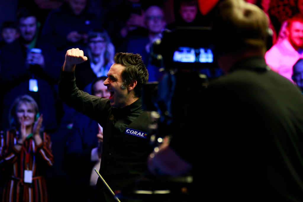 Want to draw Ronnie O'Sullivan? You're telling little porky pies, says David Gilbert