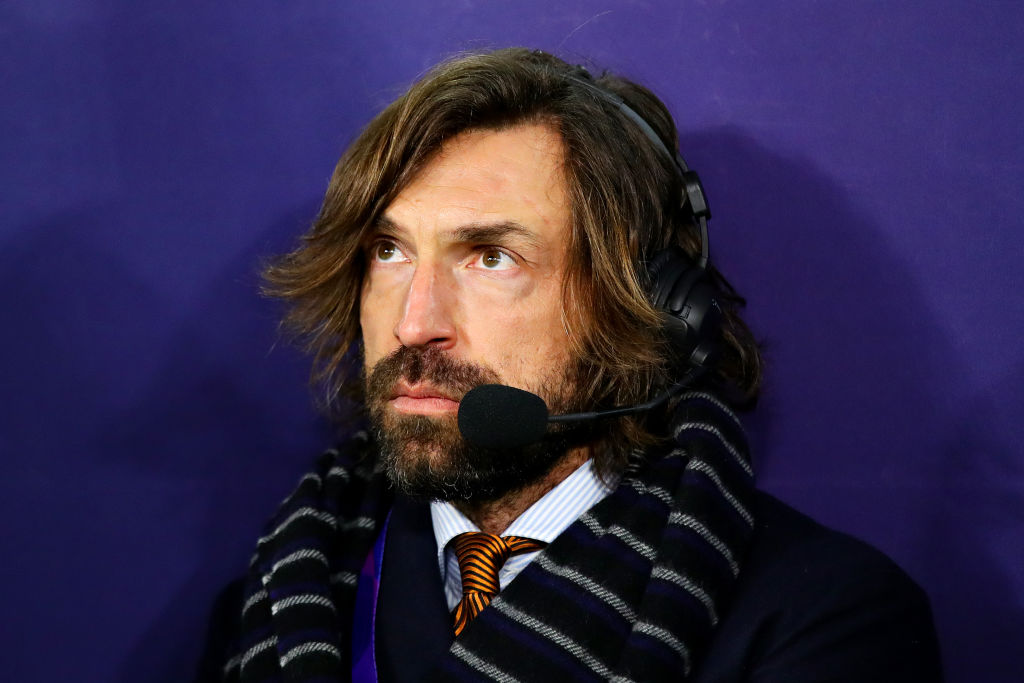 Andrea Pirlo predicts Manchester City or Juventus will win Champions League