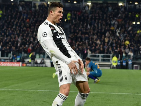Cristiano Ronaldo charged with improper conduct for 'cojones' celebration