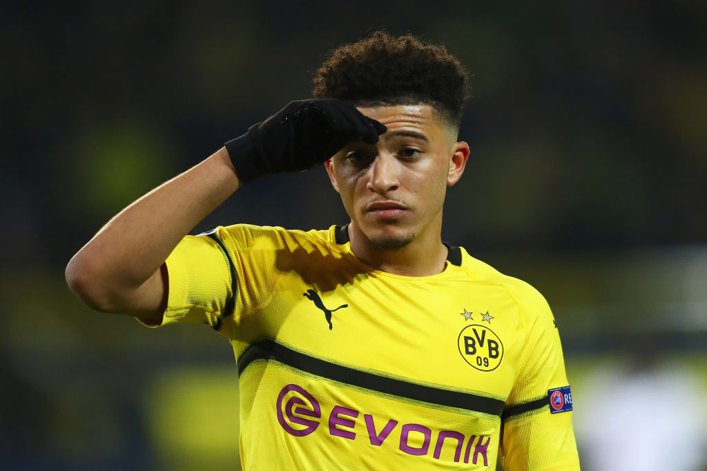 Manchester United believe they can land Jadon Sancho in £80million deal