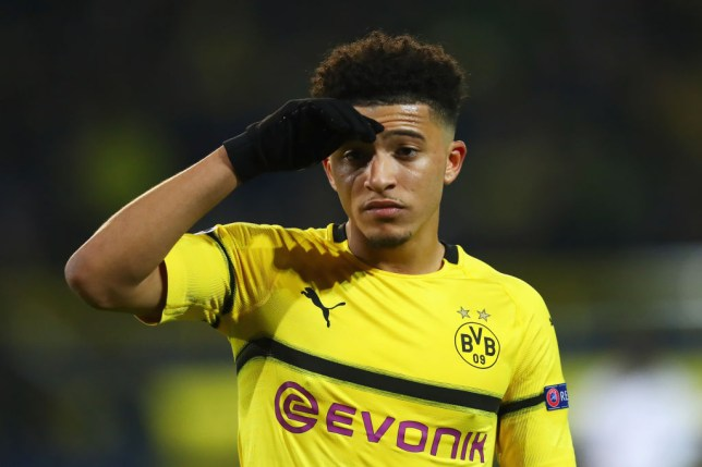 Man Utd target Jadon Sancho of Borussia Dortmund