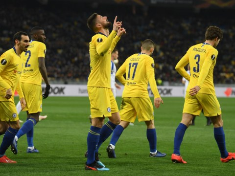 Olivier Giroud has now scored as many Chelsea goals in Europe as Gianfranco Zola… in just 10 games