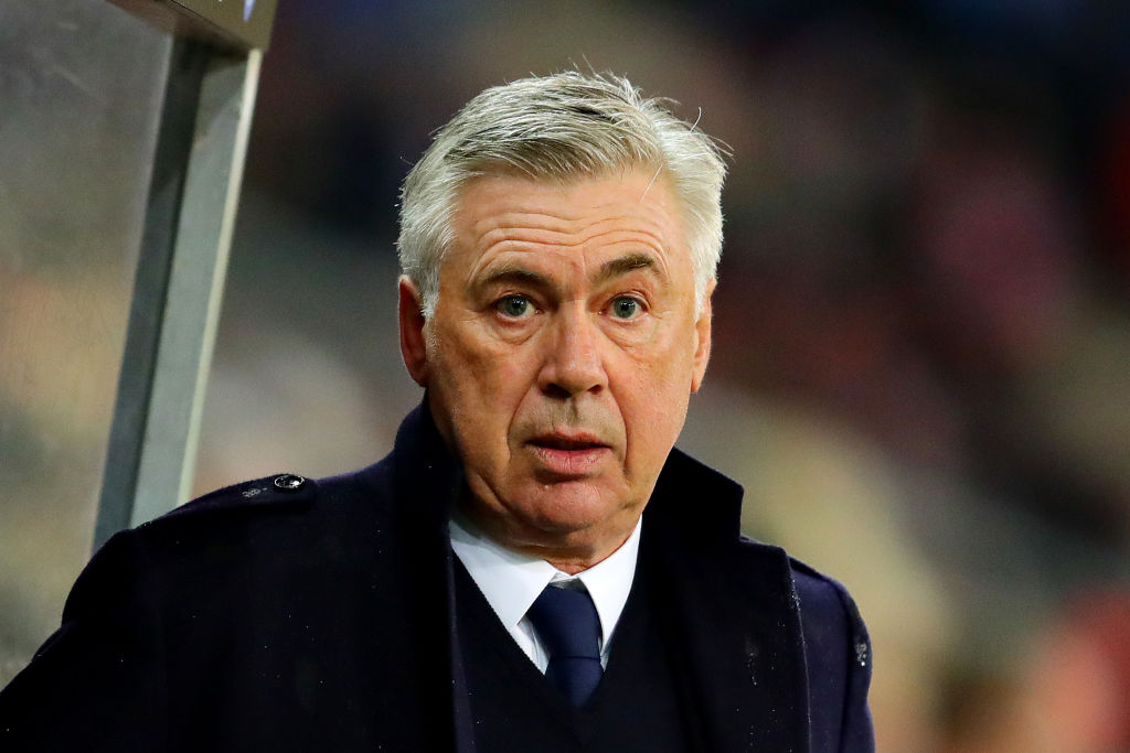 Carlo Ancelotti reacts as Napoli suffer triple injury blow ahead of Arsenal Europa League clash